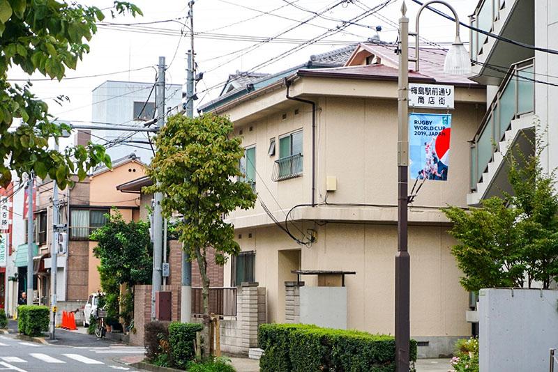 梅島駅前通り商店街