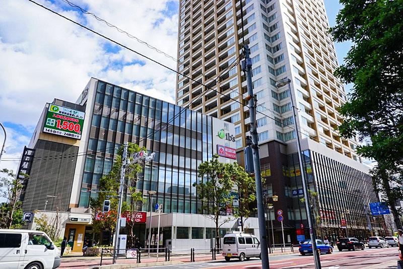 市川街道のタワーマンション