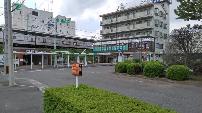 柳瀬川駅東口前