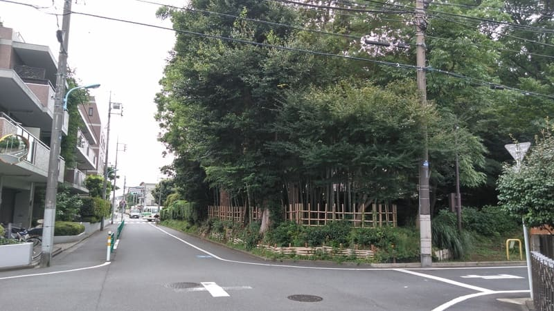 井荻駅南側住宅街