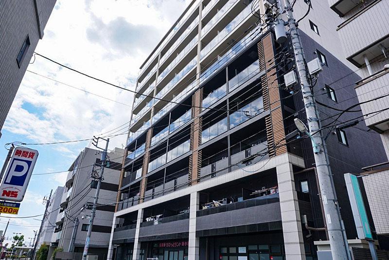 私学事業団総合運動場近くのマンション
