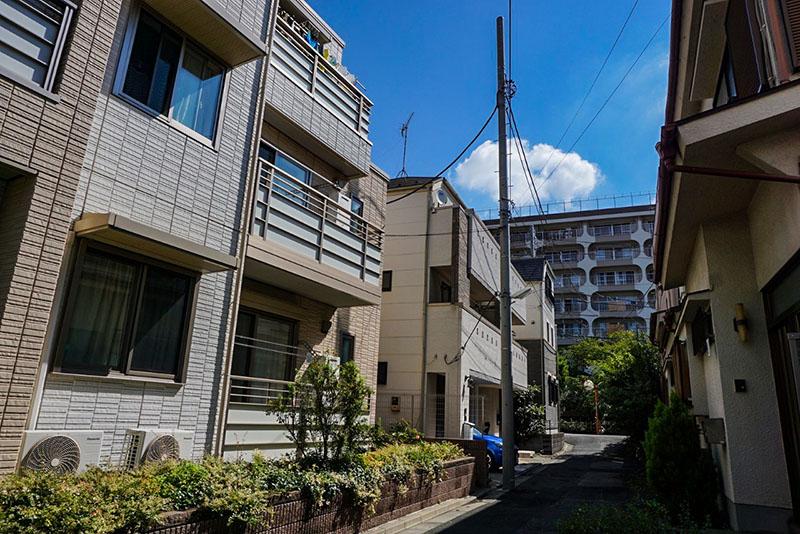 東武ストア近くの住宅