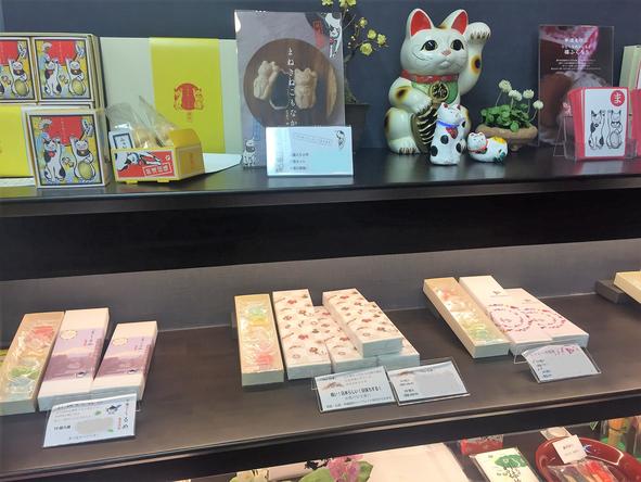 和三盆工芸菓子 象東 店内風景