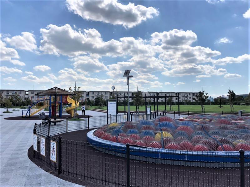 新河岸東公園こどもスポーツ広場