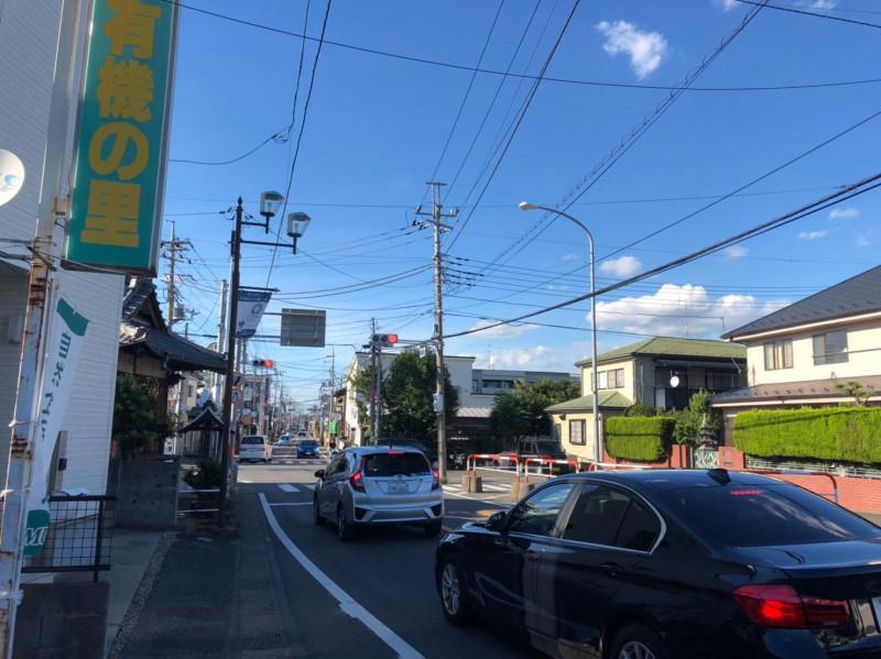 与野本町駅西側の住宅街