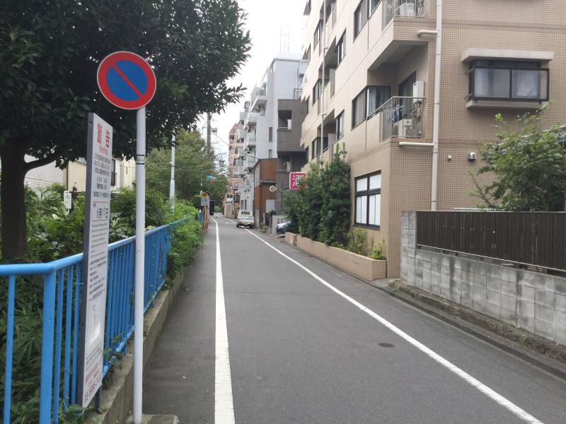 千川駅付近の路地