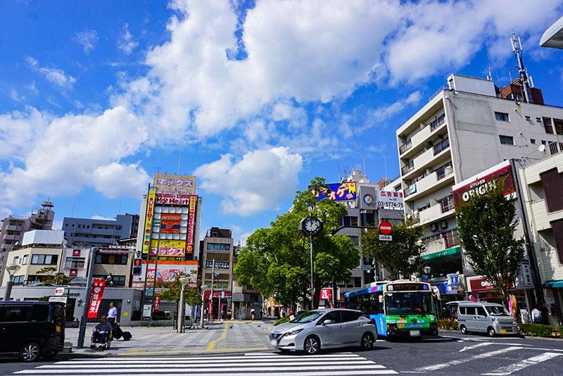平井駅北口駅前