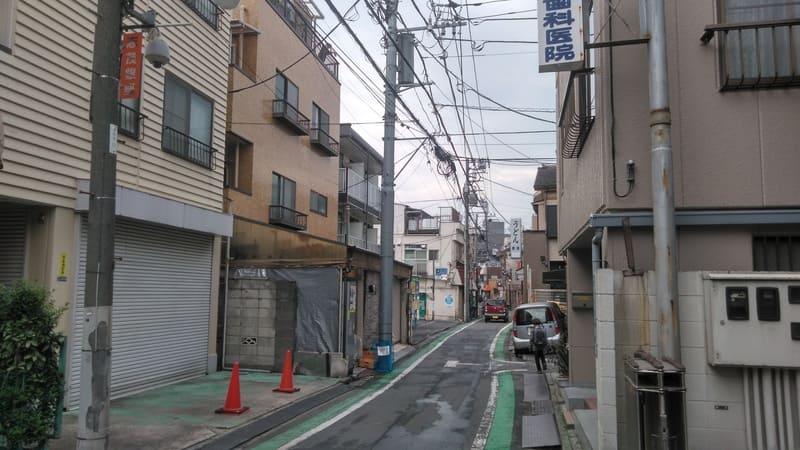 志茂駅東側 住宅街