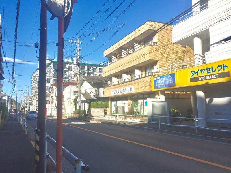 武蔵野市境1丁目付近道路