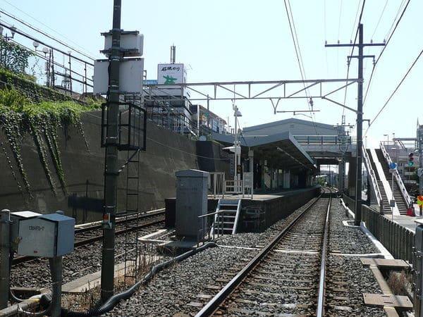 谷津駅の外観