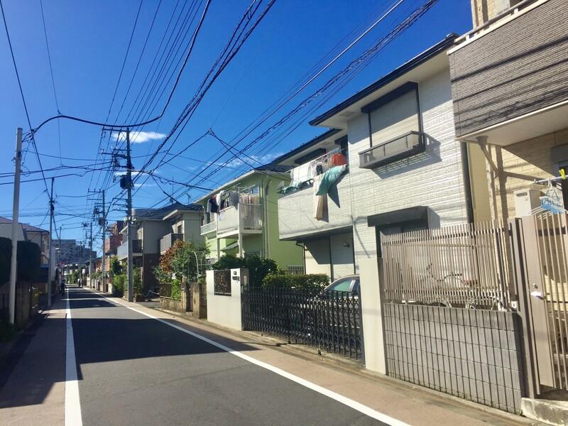 武蔵野市境2丁目付近の住宅3
