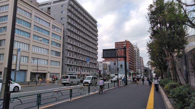 西早稲田 明治通り沿い