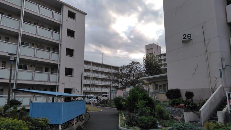 戸山公園 周辺の団地