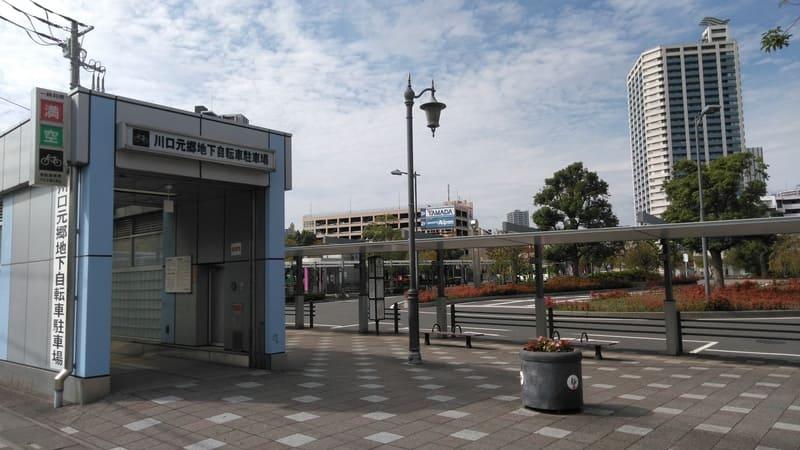 川口元郷駅 2番出口前 駐輪場