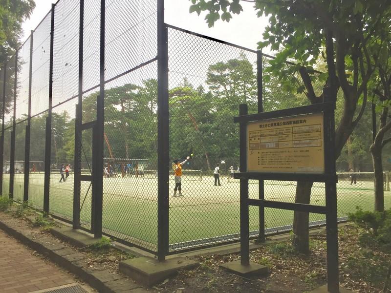 井の頭恩賜公園西園テニスコート