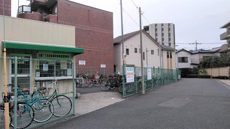 川口元郷駅 駐輪場