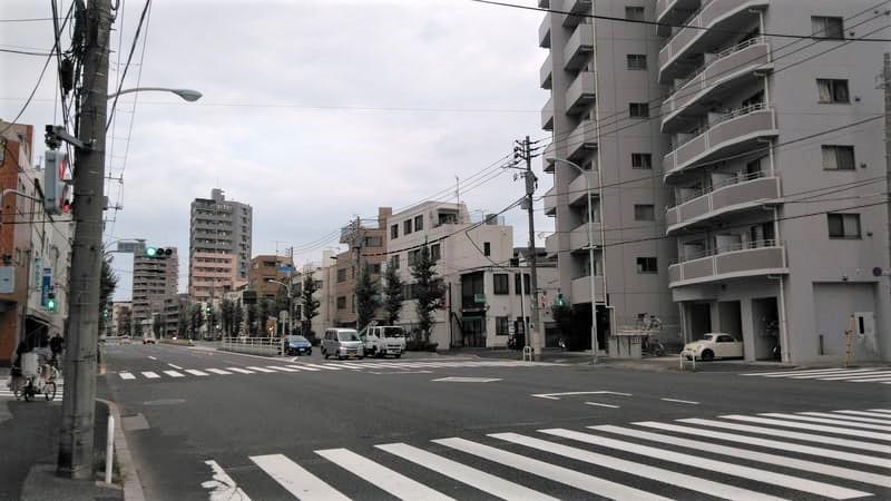 志茂駅前 北本通り