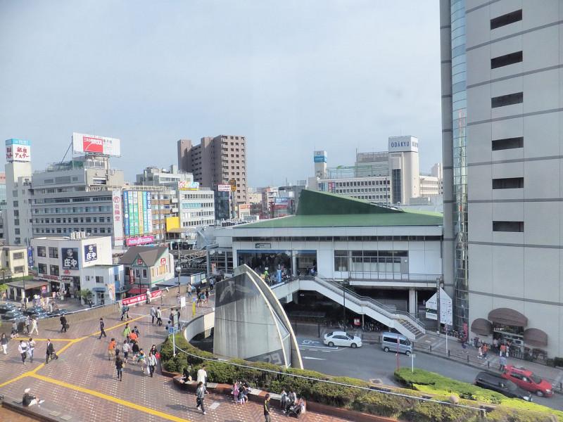 藤沢駅周辺の景色
