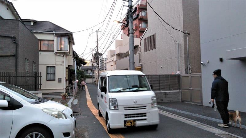 諏訪神社 周辺の住宅街