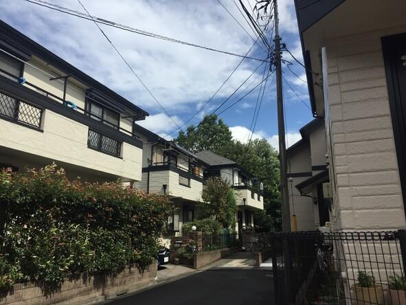 西恋ケ窪1丁目付近住宅