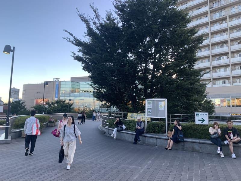 大泉学園駅北口 タワーマンション前