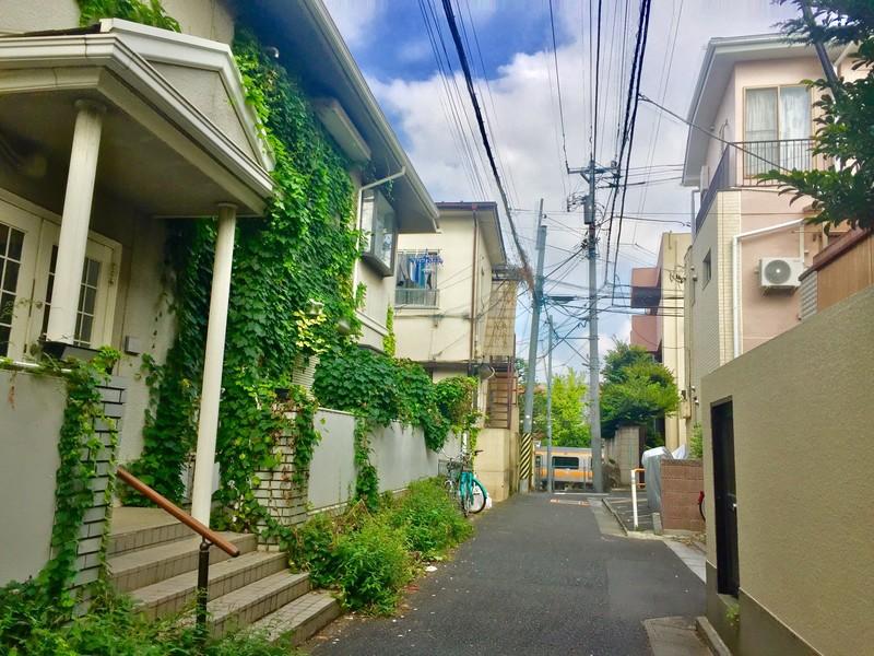 桜通り付近住宅