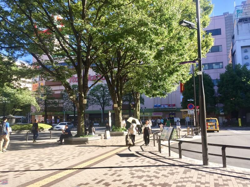 武蔵境駅南口ロータリー