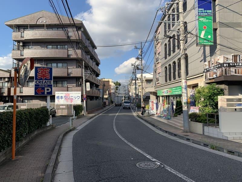 東映通り沿い