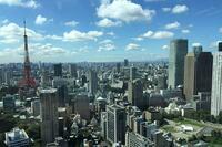 東京タワーがある風景