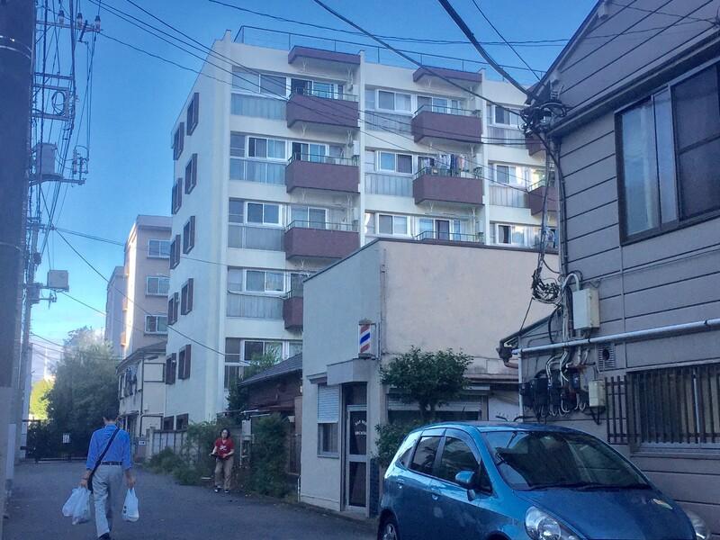八丁通り沿いアパート