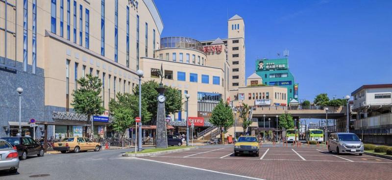 成増駅前の風景