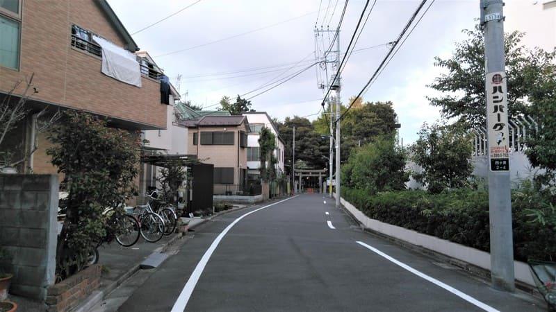 西ヶ原北側 住宅街
