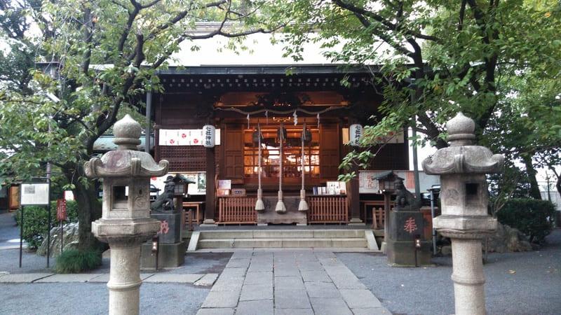 七社神社 内部