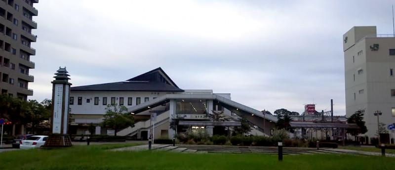 佐倉駅北口前の様子