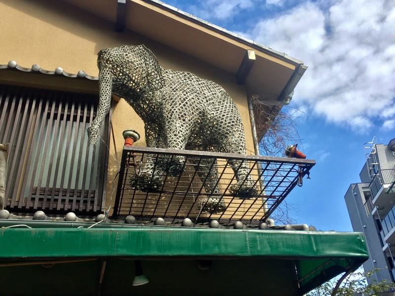 有限会社 竹清堂の竹の象さん