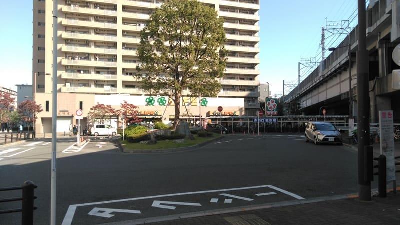 北赤羽駅 赤羽口 ロータリー