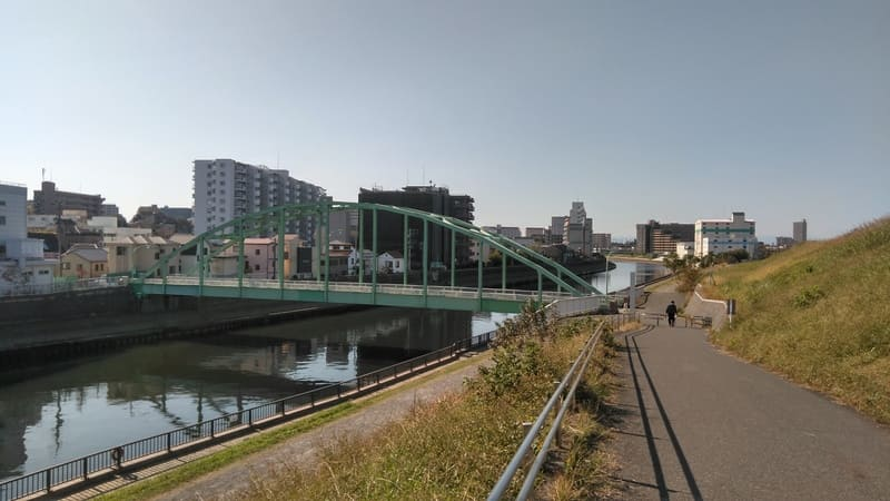 新河岸川 河川敷