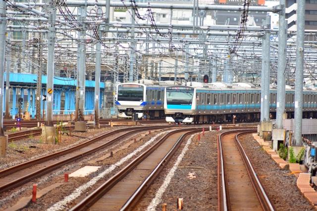 東京の線路