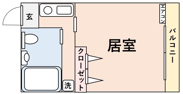 キッチンが狭い間取り図