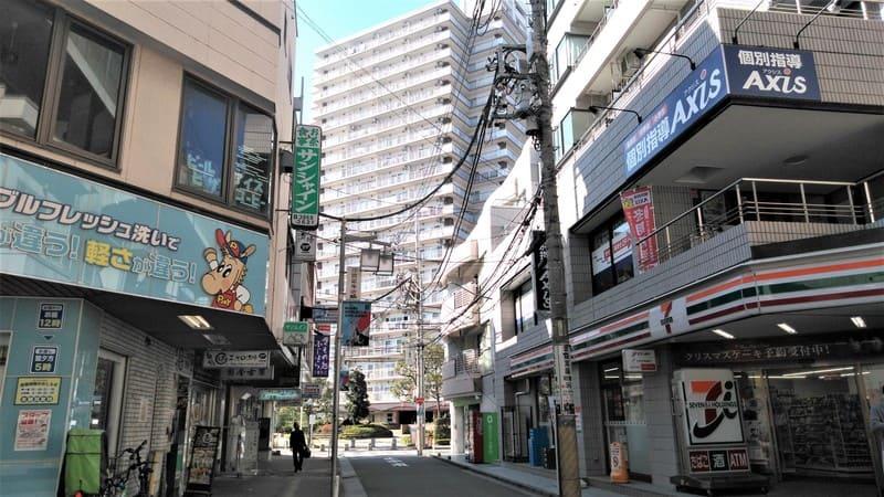 北赤羽駅 浮間口前 路地