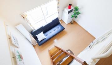 3畳ロフト付きのお部屋