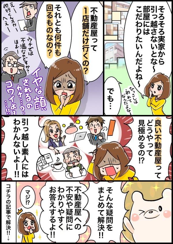 記事内容の紹介漫画