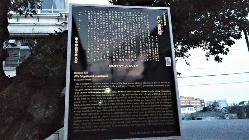 西ヶ原貝塚