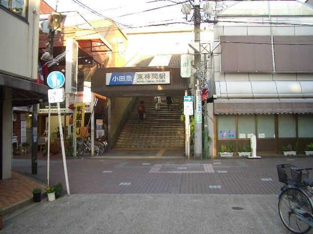 駅前の様子