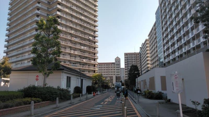 北赤羽駅西側 団地エリア