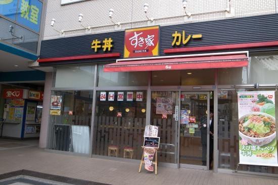 すき家 馬込沢駅前店