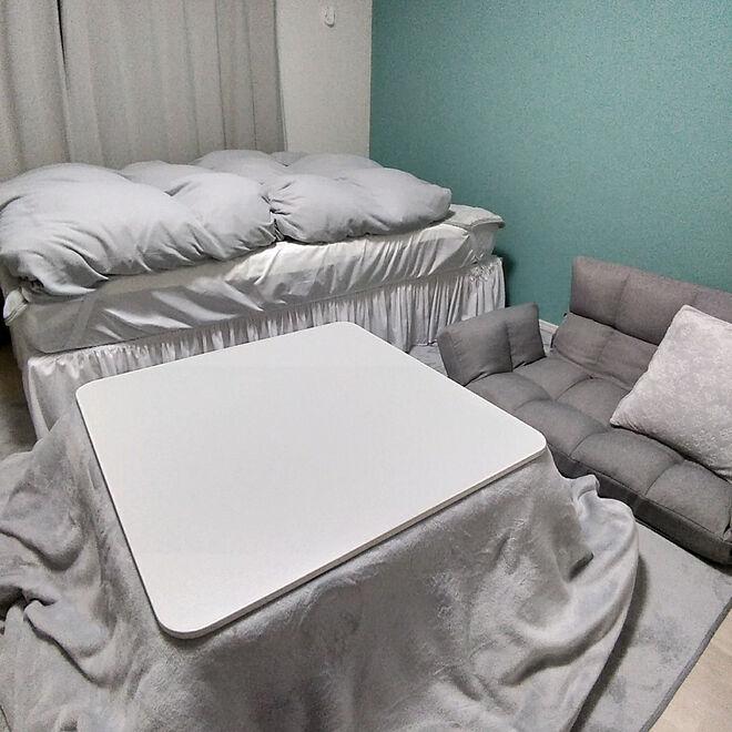 大型家具で固めたレイアウト