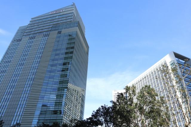 六本木駅周辺の高層ビル