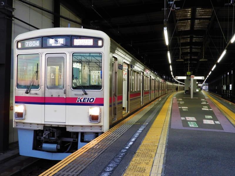 京王線  電車の写真