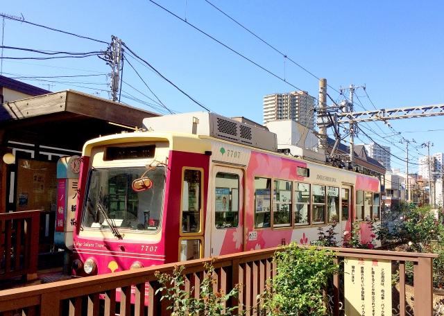 三ノ輪橋駅の都電